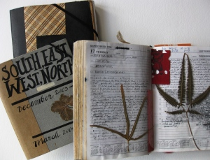 Various diaries from journeys to Spain, Mongolia, Germany, Raoul Island and NZ