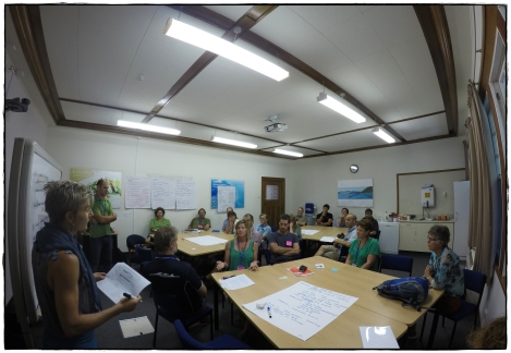 First Nelson citizen science working group meeting