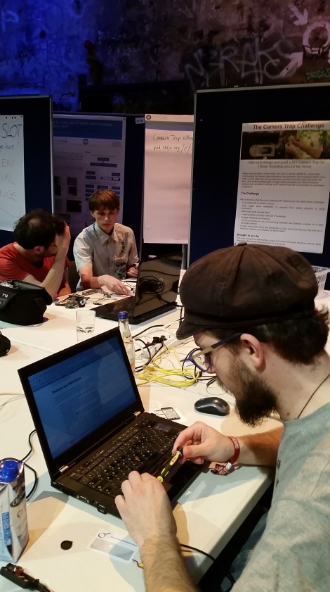 Camera hack think tank challenge #ECSA2016