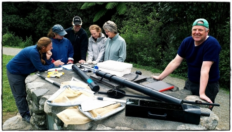Freshwater quality monitoring workshop